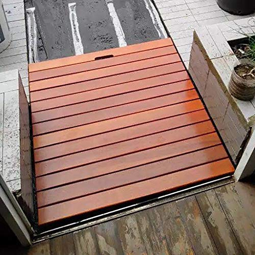 Cheapest Prices! Shower Mats Solid Wood Rectangular Non Slip Wooden Bathroom Shower/Bath Duck Board ...