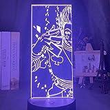 Lampe Illusion 3D Led veilleuse Hisoka enfants pépinière colorée Anime Hunter X Hunter décoration de la maison cadeau d'anniversaire