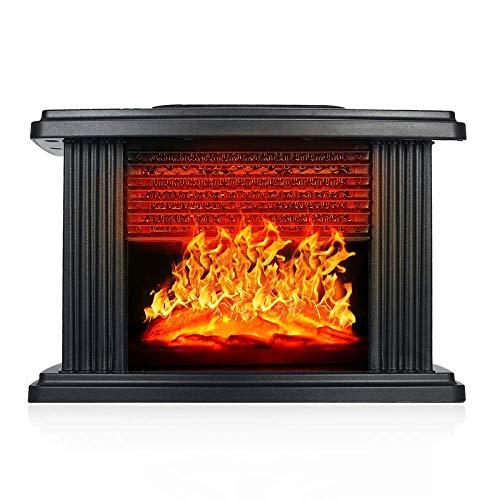 Calentador de chimenea eléctrico con control remoto Calentador de estufa de 1000...