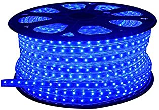 Improvhome 20 Meter Waterproof Flexible Blue LED Rope Pipe (SMD 3014) 20 Mtr Blue SMD + Adaptor