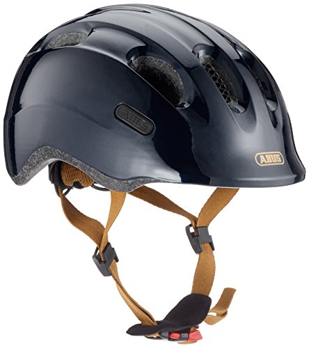 Abus Smiley 2.0, Unisex kinder Fahrradhelm,Schwarz (royal black), M (50-55 cm)