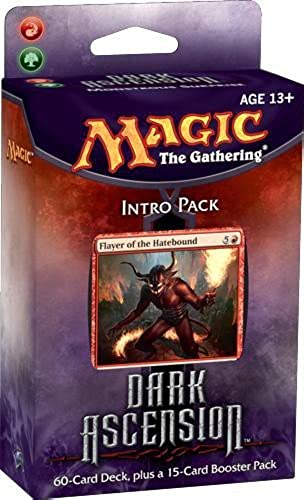 Magic the Gathering Dark Ascension DKA Sealed Intro Starter Deck Grün rot Monstrous Surprise