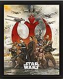 1art1 Star Wars - Rogue One, Choose A Side Póster 3D (Enmarcado) (25 x 20cm)