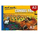 Hmg 10 Hoja/Paquete Aceite Acrílico Pintura Lienzo Almohadilla Papel Libro Pintura Lienzo Papel (A3) (Color : A3)
