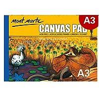 WZY 林10シート/パックオイルアクリル塗装キャンバスパッド紙本塗装キャンバス紙(A3) (Color : A3)