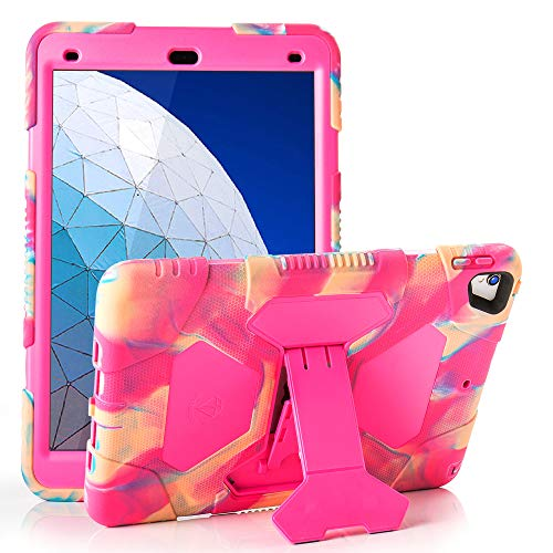 iPad Air 10.5 2019/iPad Pro 10.5 2017 Kids Case ACEGUARDER Shockproof Protective Impact Resistant Rugged Cover with Kickstand - Candy