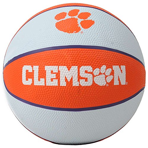 Best Bargain Clemson Tigers Mini Rubber Basketball