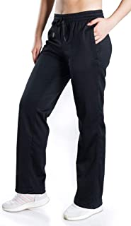 Petite/Regular/Tall, Women's Water Resistant Thermal Fleece Pants Sweatpants