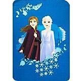 Disney Frozen Princess Anna and Elsa Kids Soft Fleece Blanket 100 X 140 cm