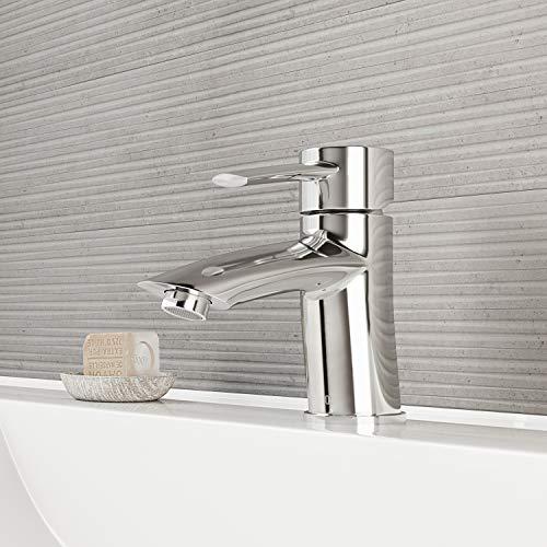 VIGO VG01023CH 6' H Bova Chrome Single-Handle Single Hole Vessel Deck-Mount WaterSense Bathroom Sink Faucet