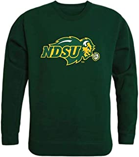 North Dakota State University Bison Thundering Herd Crewneck Pullover Sweatshirt Sweater Forest