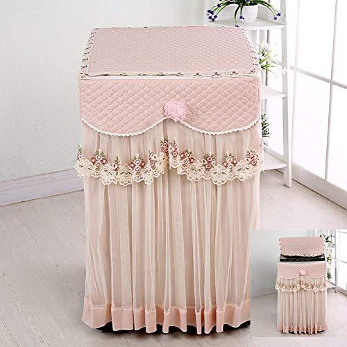 Dongbin Gewebeschutz für das Cover von Waschpulver des Blume Spitze-Front und Schutz für die Textilwäsche Belag weich und strapazierfähig für den Hausgebrauch,e,55 * 55 * 83cm