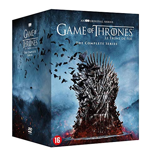 Games of Thrones-Integrale des Saisons 1 à 8 [DVD]