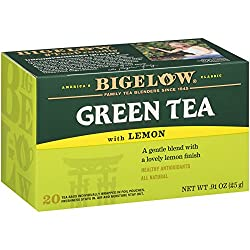 Bigelow, Green Tea With Lemon (Caffeinated), 20 Count