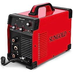 SUNGOLDPOWER 200Amp MIG MAG ARC MMA Stick DC Welder 110/220V Dual Voltage