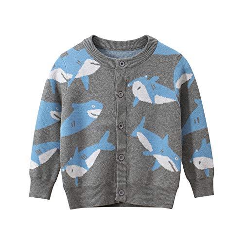 Kleine Jungen Mädchen Cartoon Tier Strickjacke Pullover Kleinkind Wale Giraffe Schneemann Langarm Strickpullover Jacke