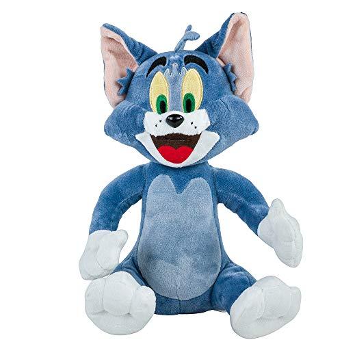 Teddys Rothenburg Kuscheltier Kater Tom von Tom und Jerry 20 cm blaugrau Plüschkater