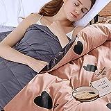 Manta Terapia con Funda,6.8kg Weighed Blanket para Peso Corporal 49-63kg para Adultos Terapia Ansiedad Efecto Sueño Calmante...