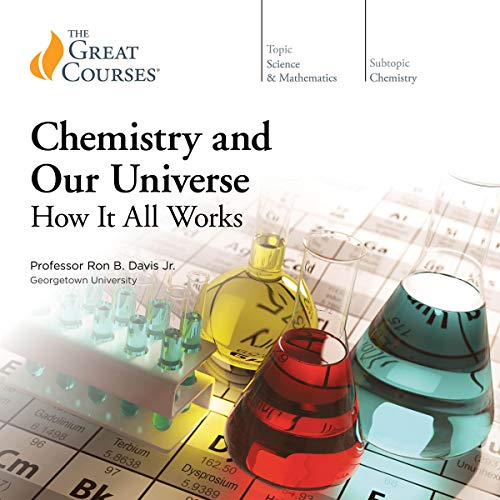 Chemistry and Our Universe audiobook cover art