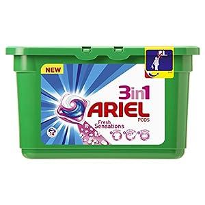 Ariel Cápsulas de Detergente 3 en 1 – 14 Unidades
