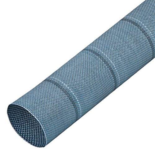 BERGER Zeltteppich, blau, robust, ideal...