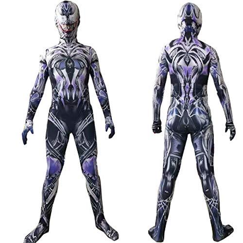 Traje de Veneno Traje de superhéroe 3D Spandex Mono Unisex Traje Traje de Veneno Traje para niños Adultos Halloween Cosplay
