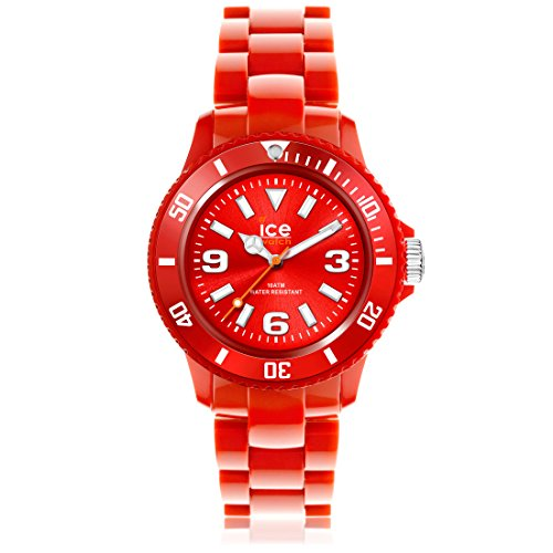 Ice-Watch - ICE solid Red - Men's (Unisex) wristwatch with plaastic strap - 000628 (Medium)