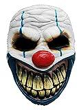 Máscara de Payaso de Horror Hecha de látex - máscara de Disfraz de Payaso de Horror Adulto - Ideal para Halloween, Carnaval, Fiesta temática y Eventos de Horror