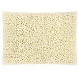 Vabneer pellets de cera de abeja blanca, 100% pura pastillas de cera de abejas, aptas para cosmética natural y fabricación de velas (200g)