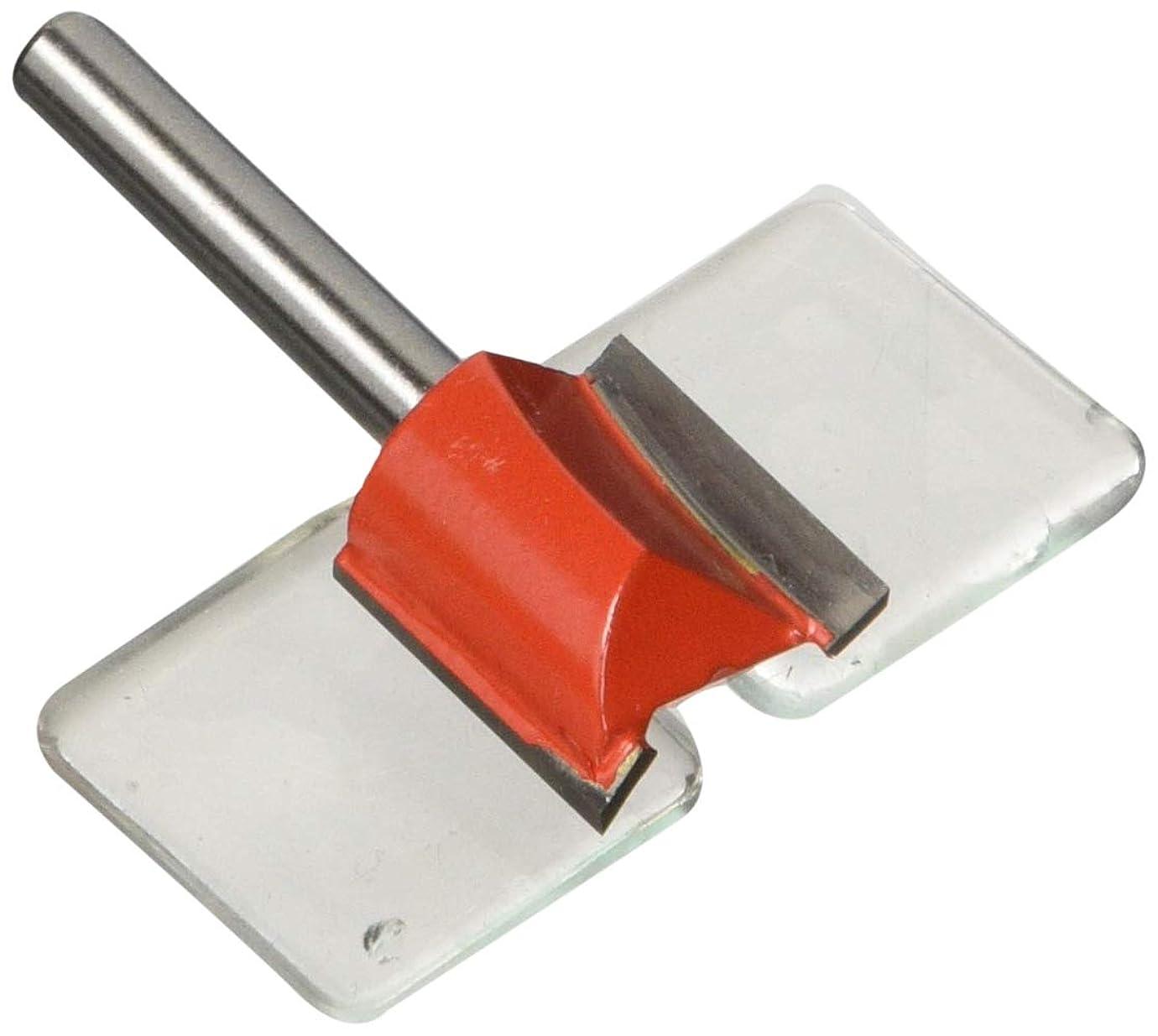 ドールちなみに引き算リリーフ(RELIEF) 超硬刃トリマービット ストレート 19mm φ6mm軸 30672