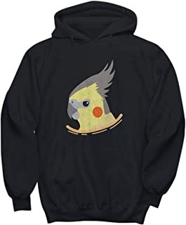 Candid Awe Pocket - Cockatiels, Cockatiel Bird, Cockatoo, Tiel, Parrot – Unisex Hoodie