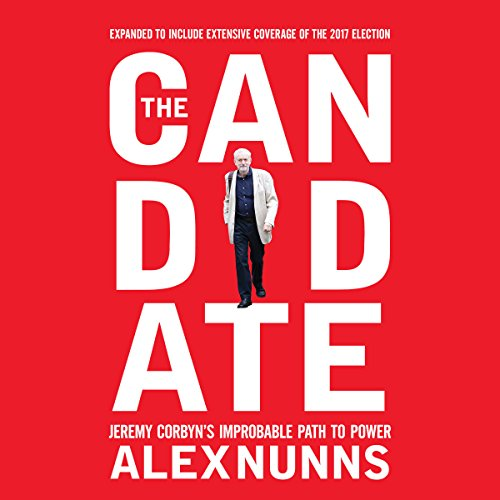 The Candidate audiobook cover art