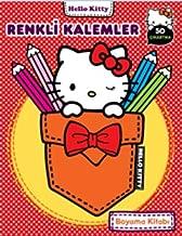 Hello Kitty Renkli Kalemler Boyama Kitabi