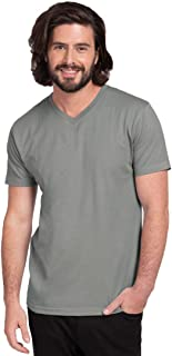 Bewakoof Men's Cotton Solid Aqua Full Sleeves | Round Neck | Regular Fit T-Shirt/Tee