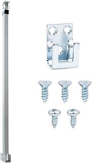 "Baomain Patio Door Security Bar Fits 28"" to 48"" Wide Door Works on Double Hung & Sliding Window (Silver)"