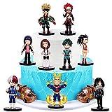 My Hero Academia Happy Birthday Cake Top Hat, Children's Mini Toy Cake Top Hat, Dessert Table Decorations (C)