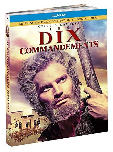 Les Dix Commandements (Versions de 1923 et 1956) [Édition Blu-Ray Médiabook]