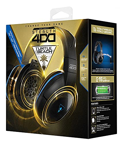 Turtle Beach - Ear Force Stealth 500P Premium Fully Wireless Gaming Headset - DTS Headphone:X 7.1 Surround Sound - PS4