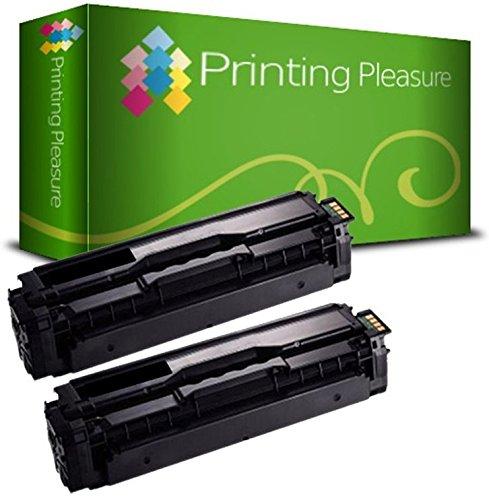 2 Toner Compatibili per Samsung CLP-415N CLP-415NW CLX-4195FN CLX-4195N CLX-4195FW Xpress C1810W C1860FN C1860FW - Nero, Alta Resa