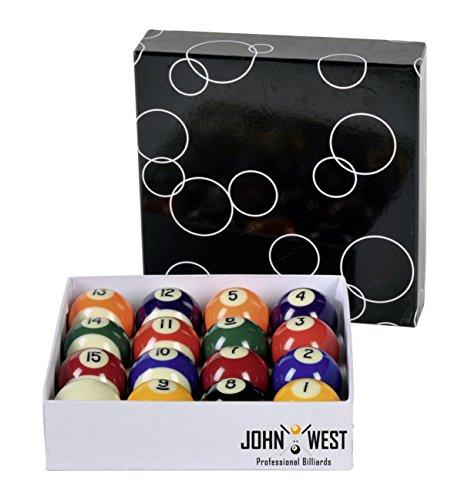 John West -   Pool Billardkugeln