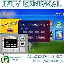 Brazil Brazilian TV Renew Activation for A1/A2/ HTV/IPTV...