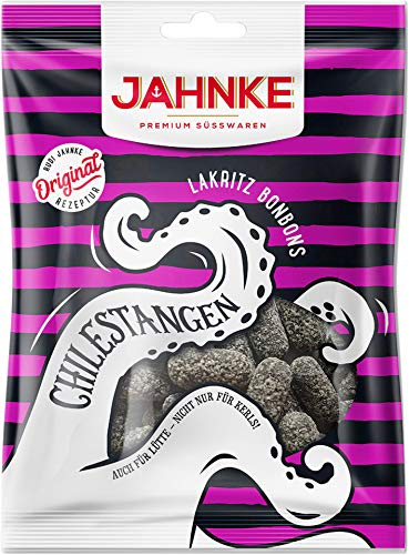 Jahnke - Chilestangen Lakritzbonbons - 150g