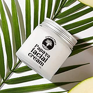 Papaya Tree Facial Cream, MOISTURIZER for Face, Best for Wrinkles, Containing papaya extract and papain,More than 20 natural extracts. KoreaFDA 105g