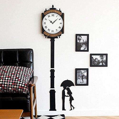 liu Mode Dekorative Wanduhren Kreativ Kreative Clock Tower Romantik Foto Rahmen