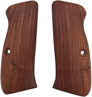 handicraftgrips CFW02## New Grips Cz75 Cz85 CZ SP-01 CZ 75B 75BD CZ75B 75 B Grips Full Size Hard Wood Hardwood Engraved Smooth Handmade Birthday Gift Sport for Men Skull Special Design