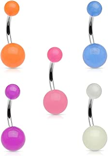 Best rave belly button rings Reviews