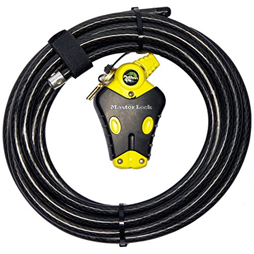 Master Lock - (1 Python Adjustable Cable Lock, 8413KACBL-20