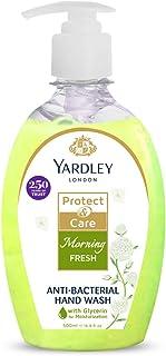 YARDLEY LONDON Morning Fresh Antibacterial Handwash with 100% Germ Protection, 500ml