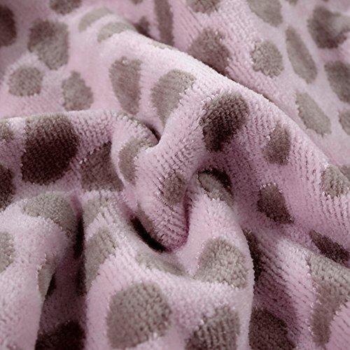 DW&HX cotton toalla de baño suave estupendo, Vapor corta toalla terciopelo leopardo Absorbente suave adulto toalla-B 140x70cm(55x28inch)