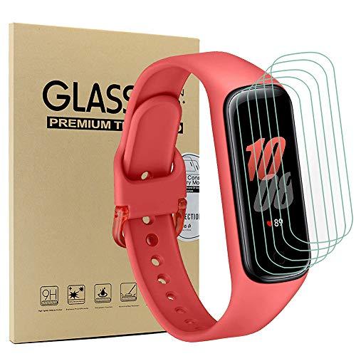 Acadeny [10 Pezzi Pezzi Pellicola Protettiva Compatibile con Samsung Galaxy Fit 2,Sensibile al Tatto, Senza Bolle, HD Trasparente TPU Pellicola